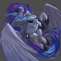Princess Luna by Santagiera