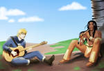 We Make Music Together by AliciaMuhm