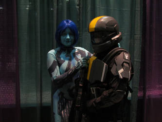 ConnectiCon 2012 - Halo 3 ODST by VideoGameStupid