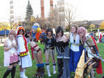 Another Anime Con 2012 - Girls of Final Fantasy 4 by VideoGameStupid