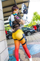 TerrifiCon 2016 - Tracer(PS) 04 by VideoGameStupid