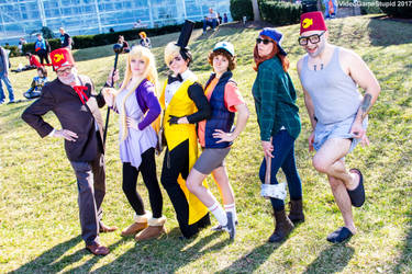 Katsucon 2017 - Gravity Falls(PS) 25 by VideoGameStupid