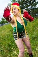 ColossalCon 2018 - Cammy(PS) 01 by VideoGameStupid