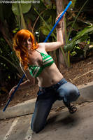 Anime Expo 2018 - Nami(PS) 04 by VideoGameStupid
