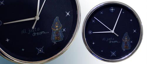 Chrono Trigger Clock: Prophet by NebulousFrog