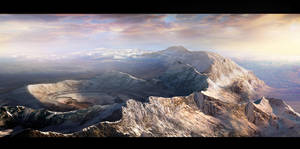 Mountaintop mining by CyrilT