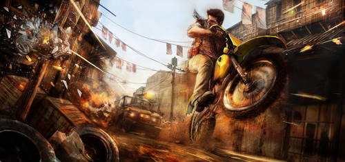 Uncharted 3 tribute by CyrilT
