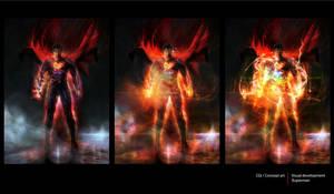 Superman  concept art by CyrilT