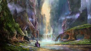 Paradise landscape by CyrilT