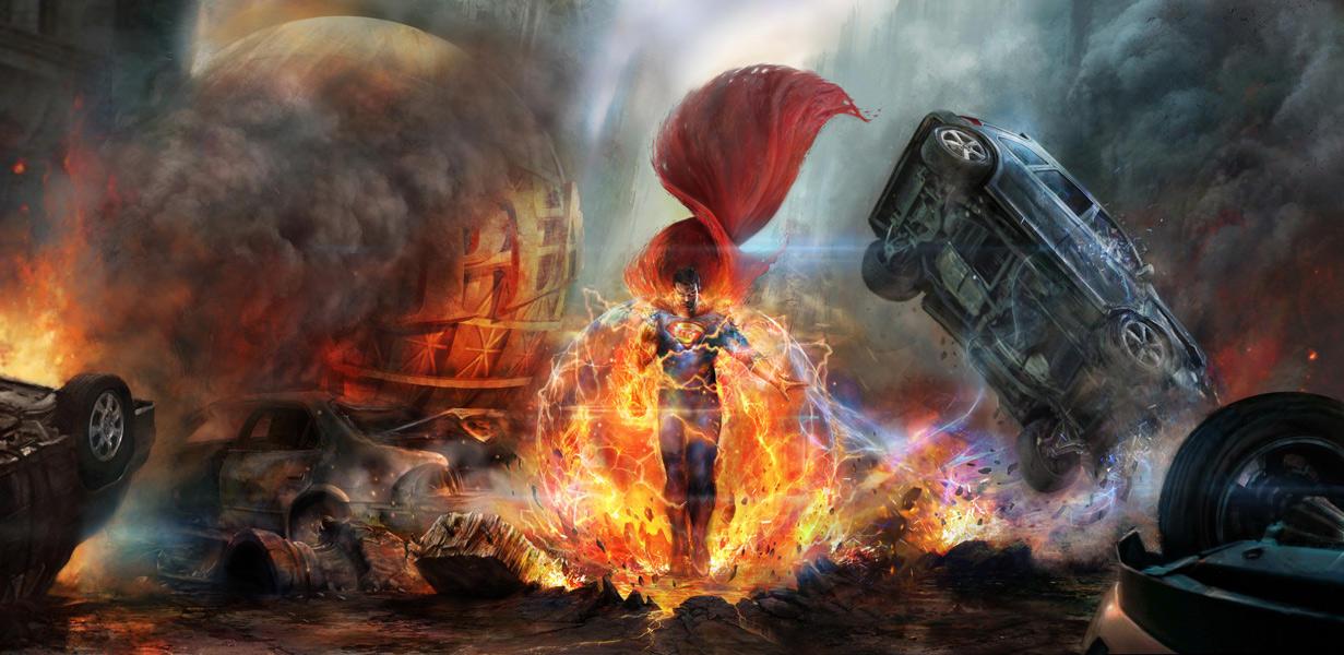 Superman Man of steel by CyrilT