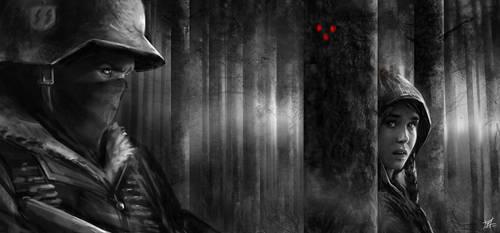 Predator Holocaust artwork by CyrilT