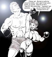 Boxing Babe Jessy: Talk The Talk by Davros77