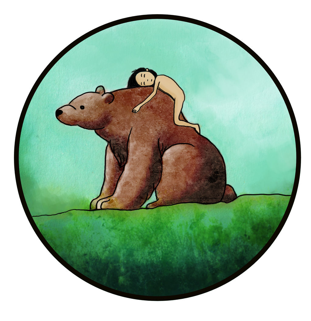 Mowgli and Baloo by DaumierSmith