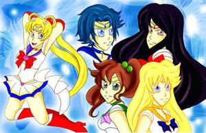 o Inner Senshi o by khiro