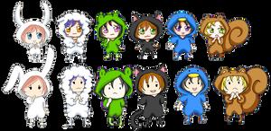 o Kigurumi Friends o by khiro