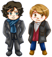 o Sherlock and John o by khiro
