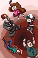 Gravity Falls by khiro