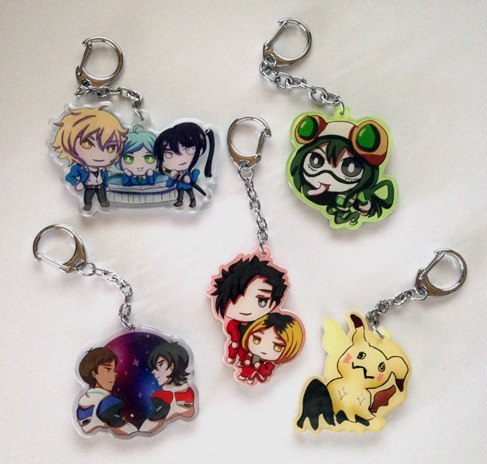 Keychain Samples by khiro