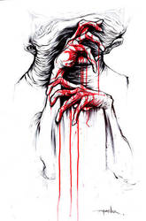 Red Handed 1 by alexpardee