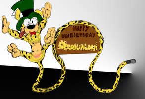 Houba happy Unbirthday by GregTheLion