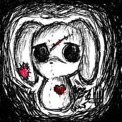 Emo Bunny by Warm-Bunny