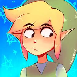 Toon Link by wheezeroni