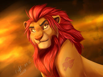 Adult Kion by FrolJoker