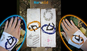 Portal bead bracelets by Narucid