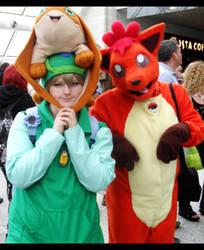 digimon Meets Pokemon by xPixieSoulx