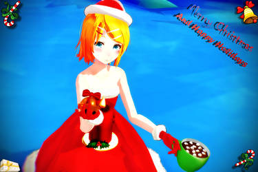 Merry Rinny Christmas by Kirychan1226