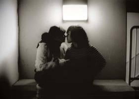 eskimo kiss by some-girl