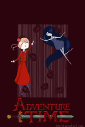 Vampire time with Romania and Marceline by kmk98