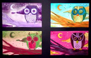 Owls by Caden13