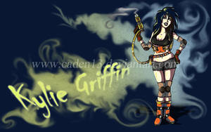 Kylie Griffin Wall paper by Caden13