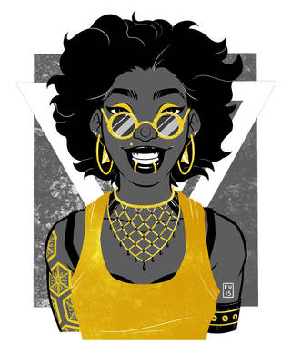 Black and Gold 2 by Caden13