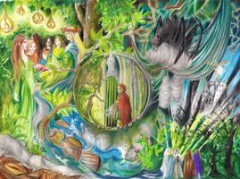 Mirkwood scenes by silene-acaulis