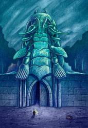 Isopodian Temple by NickTrip