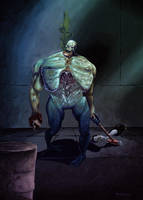 Zombi Boss by NickTrip