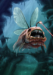 Zombi Fish by NickTrip