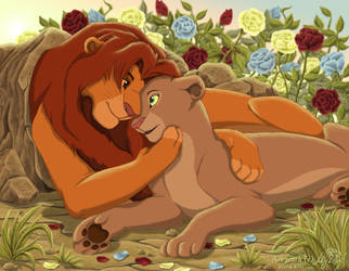 Only love by Myza-Lioness