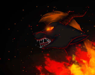 Khaos ~art trade~ by DragonLoverTori