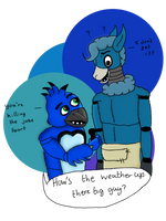 FNaF oc gift hows the weather up there by hammyhammy22