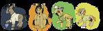 MLP Equestria Exploration society by hammyhammy22