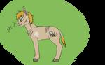Has a cold draws a pony by hammyhammy22