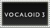 Vocaloid3 Stamp by Starwa
