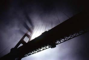 Fog on Golden Gate by docyanez