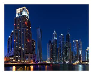 Dubai Marina Bay by SteDreLa