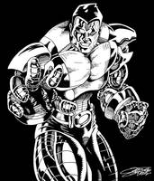 COLOSSUS b/w by VAXION