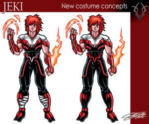 JEKI new costume design by VAXION