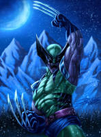 WOLVERINE Collab by VAXION